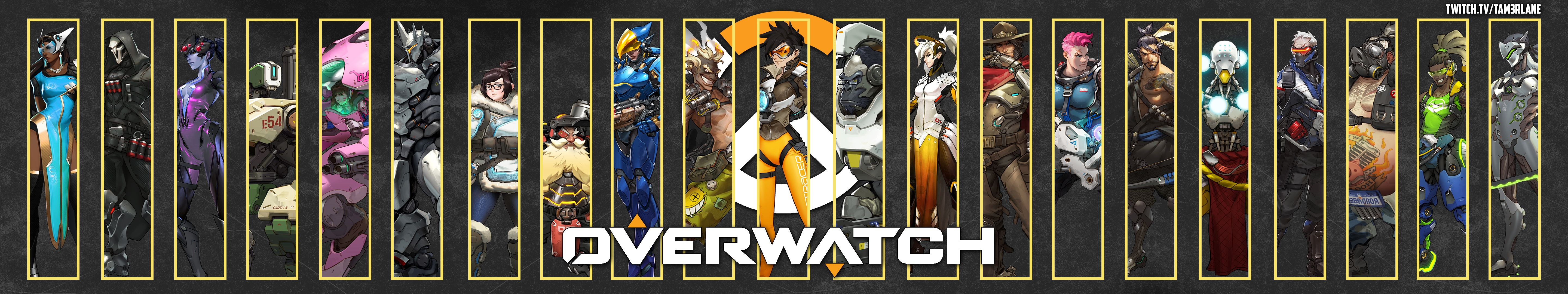 Overwatch Triple Monitor Wallpaper 5760x1080 Enjoy