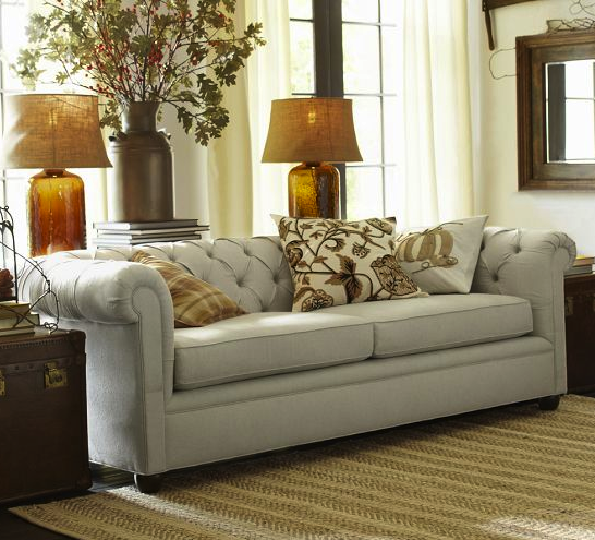 Pottery Barn Chesterfield Sofa Kid Friendly Furniture On Redsoledmomma