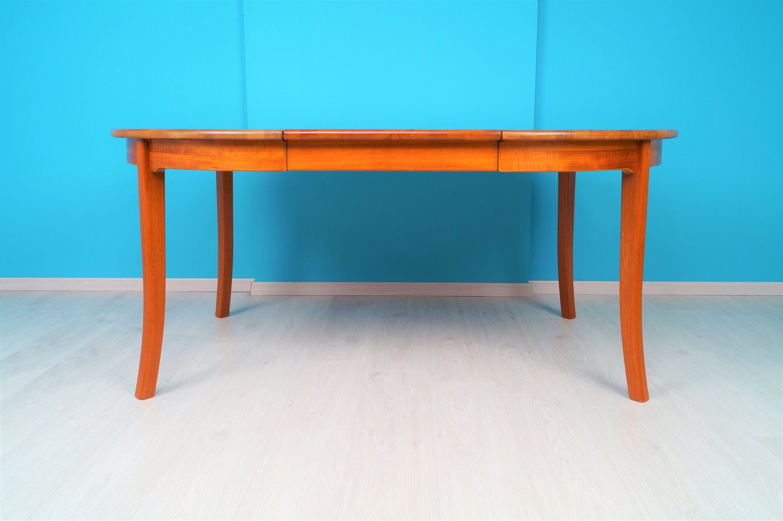 Teak Esstisch 50er 60er Jahre Ausziehbar Danish Design Auf Www Deluxe Furniture De Teak Dining Table Table Dining Table