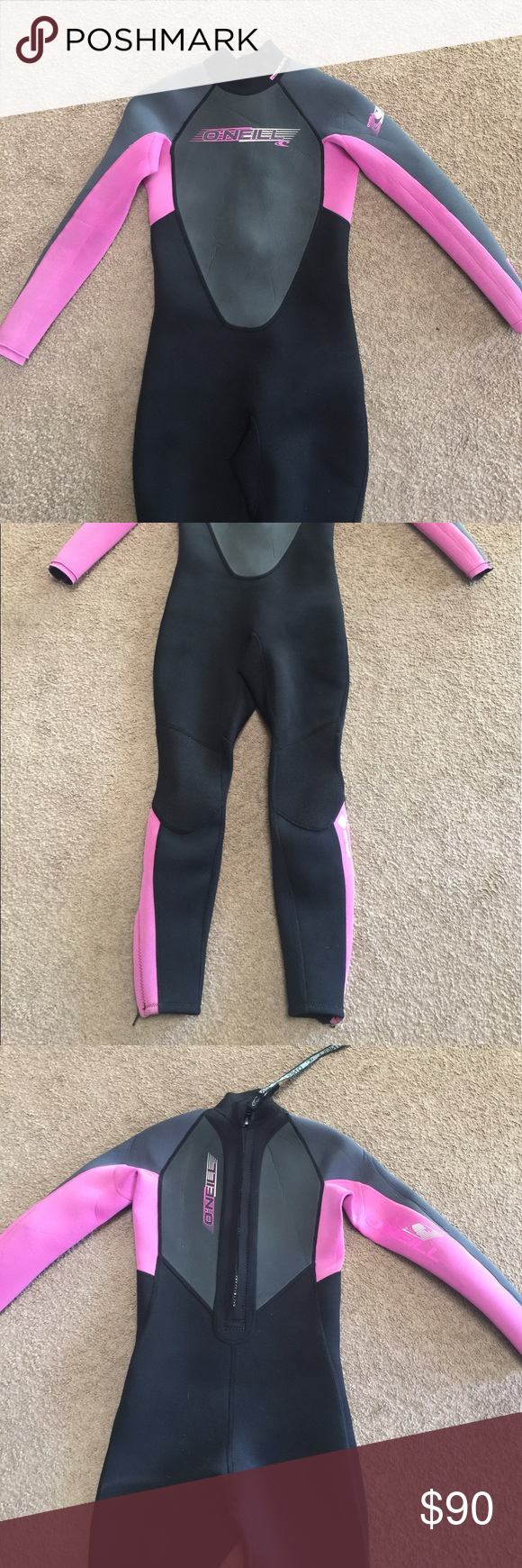 O Neil Wetsuit In Excellent Condition Wetsuit Spring Suit Oneill Swim