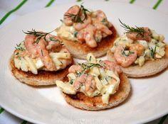 Romige garnalensalade met ei en dille - KeukenLiefde