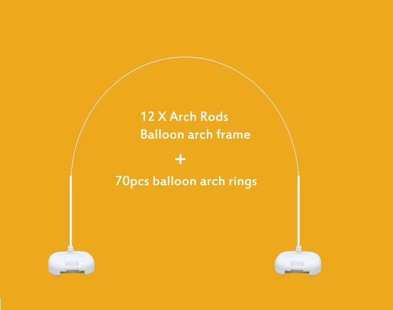 13 ft x 14 ft Large Balloon Arch Frame Kit for Outdoor Party & Store ...