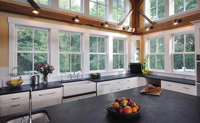 White Kitchen No Windows kitchens without upper cabinets | homeowner guide | kitchen