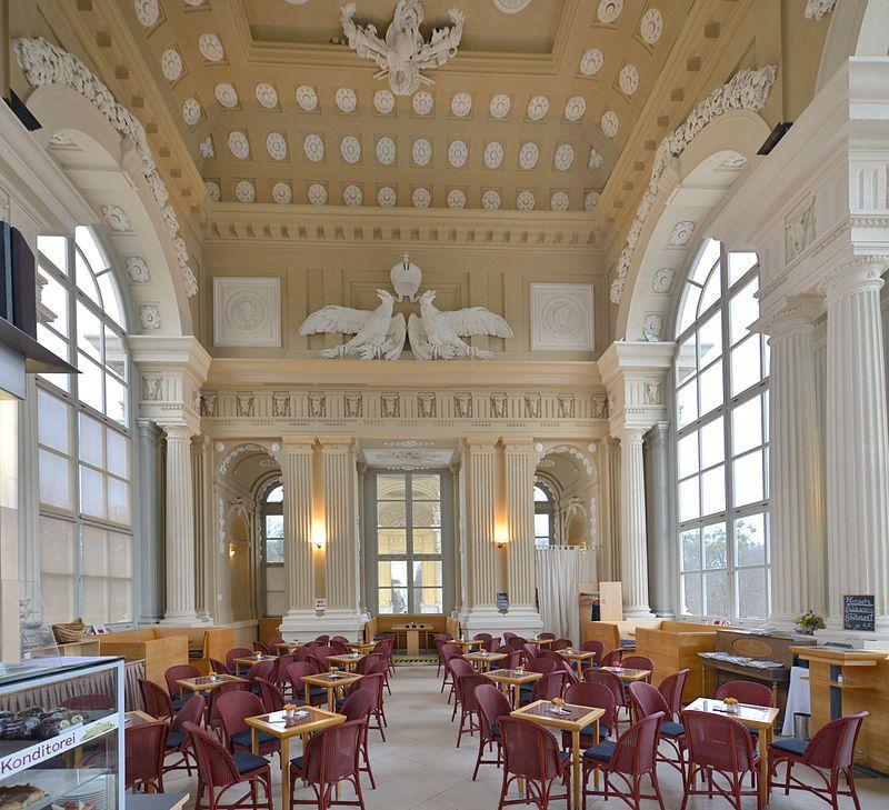 Cafe gloriette schönbrunn 1 schönbrunn palace wikipedia the free vienneautrichedecksculptureaménagement intérieurmaisonpalaishall