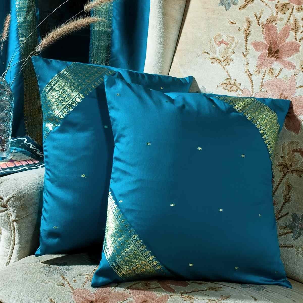 Robot Check European Pillows Turquoise Pillow Covers Turquoise Throw Pillows