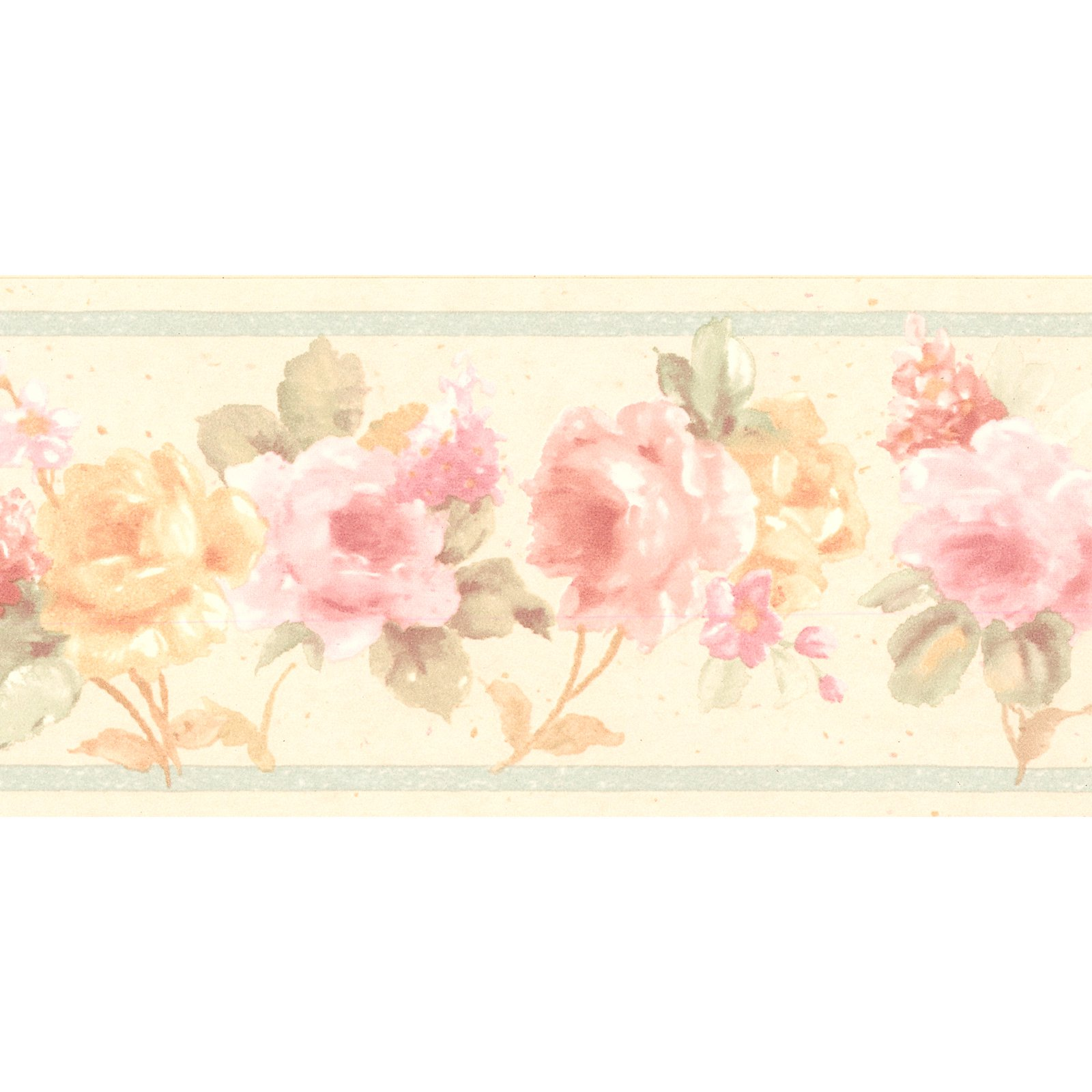 Brewster Luanne Floral Wall Border Floral Wall Border Floral