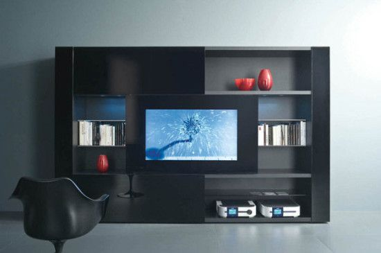 muebles modernos para tv el taller de libia Pinterest