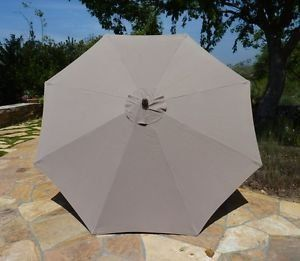 Elegant Premium Market Outdoor Patio Umbrella (Crank U0026 Tilt) In Grey