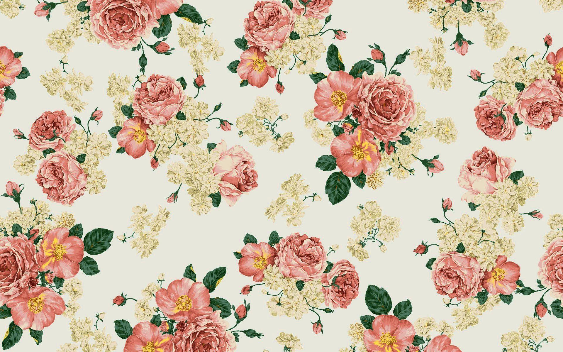 Floral Vintage Wallpaper Tumblr Vintage Flowers Wallpaper Vintage Floral Backgrounds Vintage Flower Backgrounds