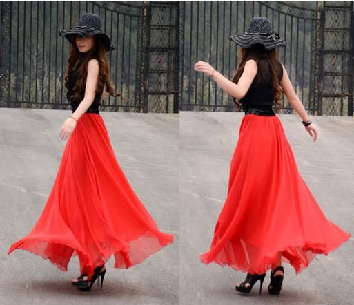 long skirts for girls - Google Search | Clothes | Pinterest ...