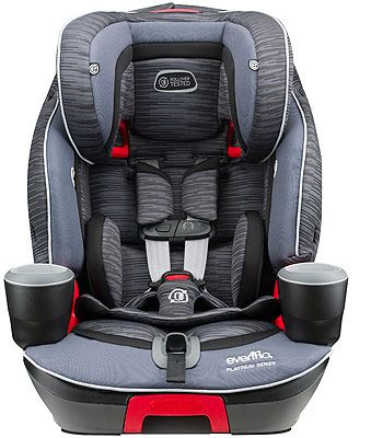Evenflo Platinum Evolve 3 In 1 Combination Booster Car Seat