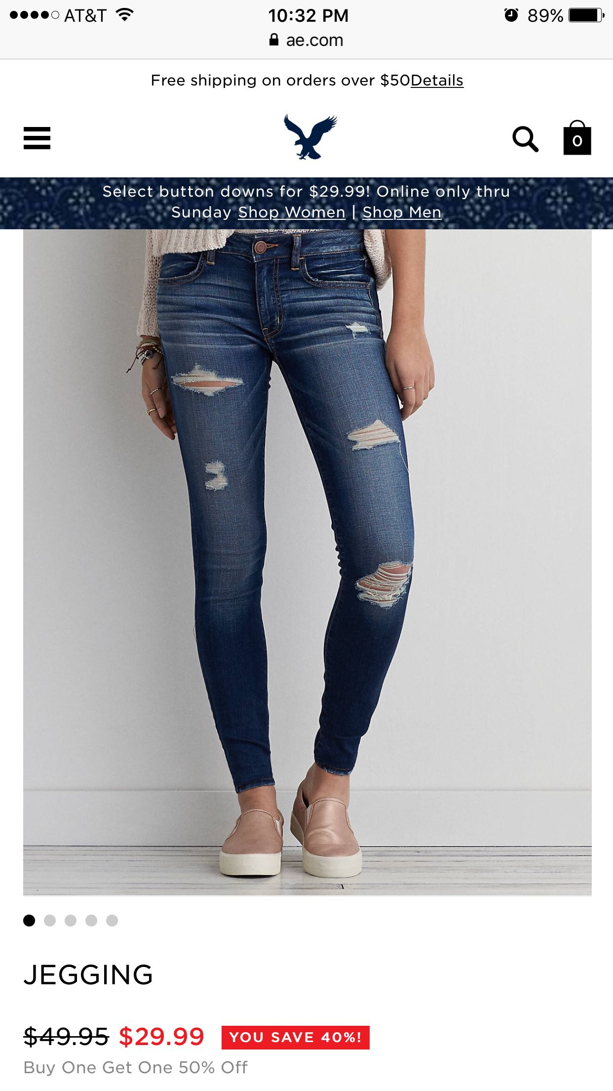 5a96b077 American eagle ripped jeans | spring wish list in 2019 | American ...