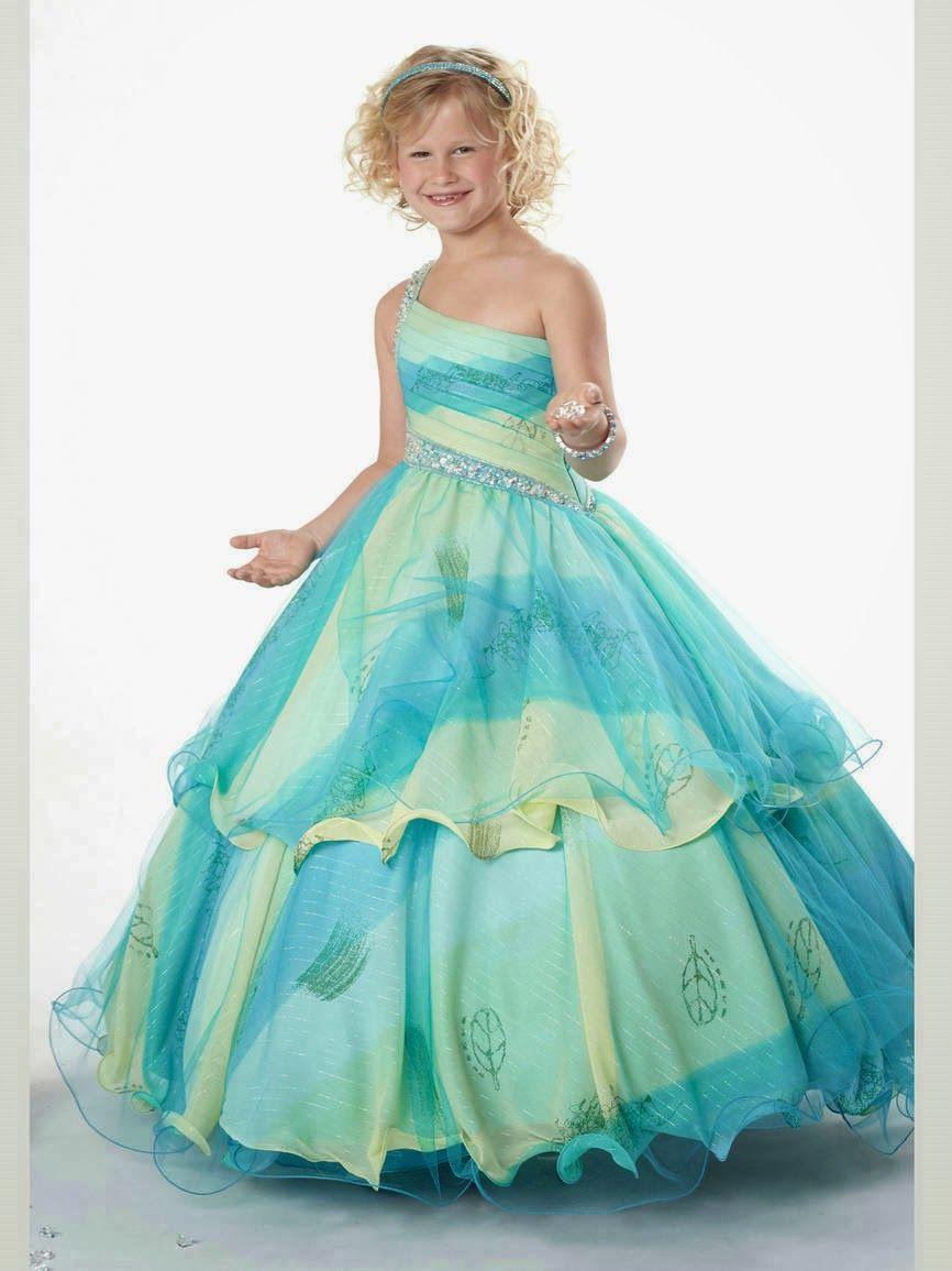 Lindos Vestidos de fiesta para niña | Moda y Tendencias | bestidos ...