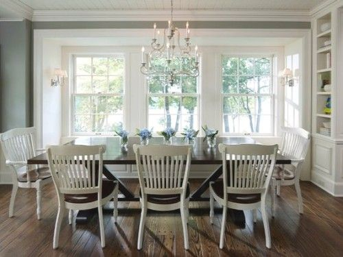 To Add That Extra Something Your Dining E Consider Using Chairs With A Difference Colourful Don T Match The Stain Of Table