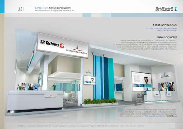 Exhibition Booth Behance : Exhibition design special booth by amornwat osodprasit