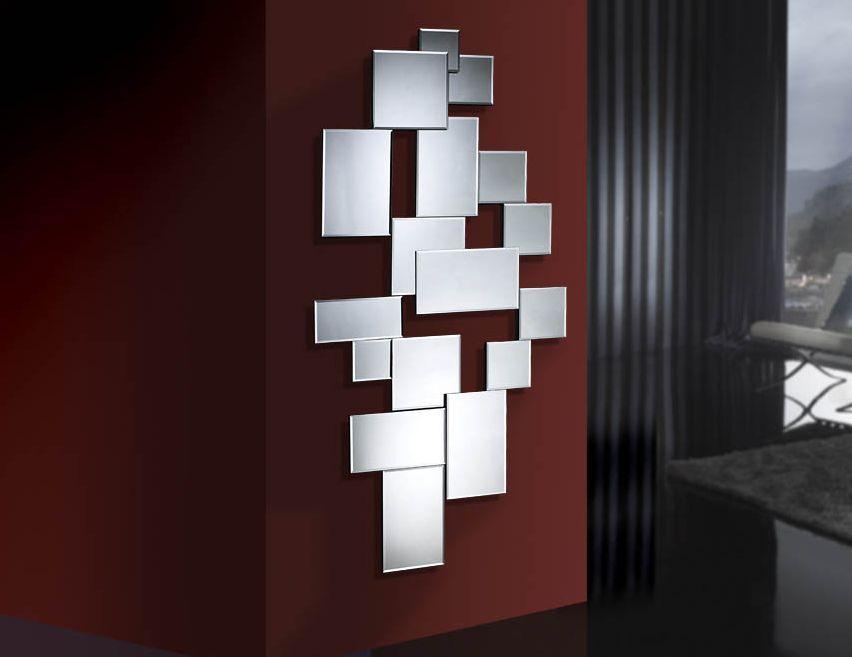 Espejos modernos de cristal city decoracion beltran tu for Espejos decorativos modernos