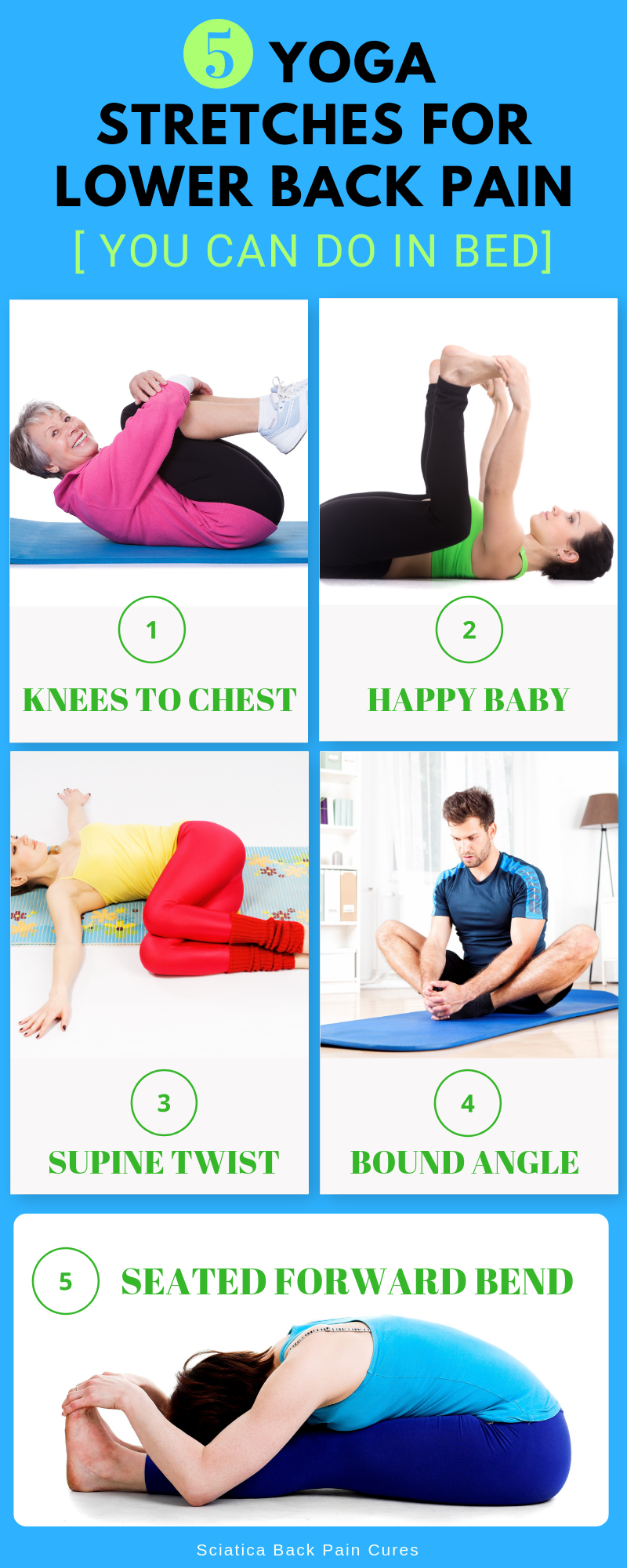 Yoga Stretches To Do In Bed