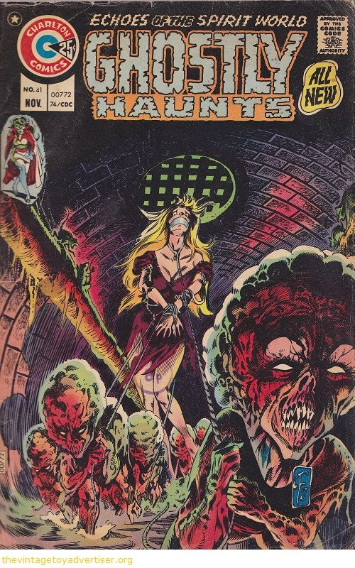 tom sutton charlton | Cover art by Tom Sutton. USA. Charlton Comics. Ghostly Haunts issue 41 ...
