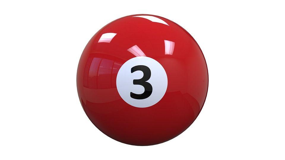 Imagen Gratis En Pixabay Billar Bola Tres Rojo 3 Bola 8 Billares Bolas Bolas Billar