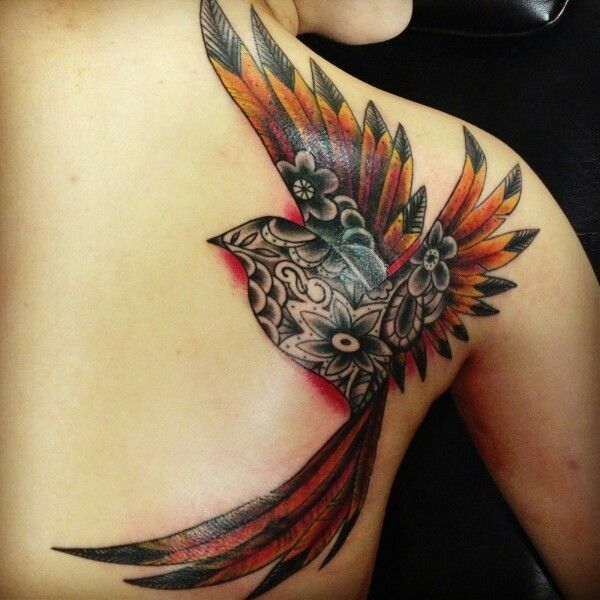Phoenix tattooss 600 600 tattoo ideas for Ink craft tattoo