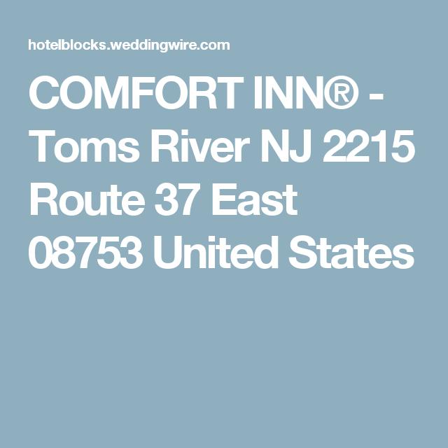 Comfort Inn 174 Toms River Nj 2215 Route 37 East 08753