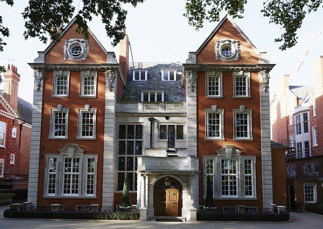 Socialite Tamara Ecclestone shows off £3billion, 57-room ... on shop floor plans, london home rentals, london apartments floor plans, london flat floor plans, london home architecture, london home design, london home construction,