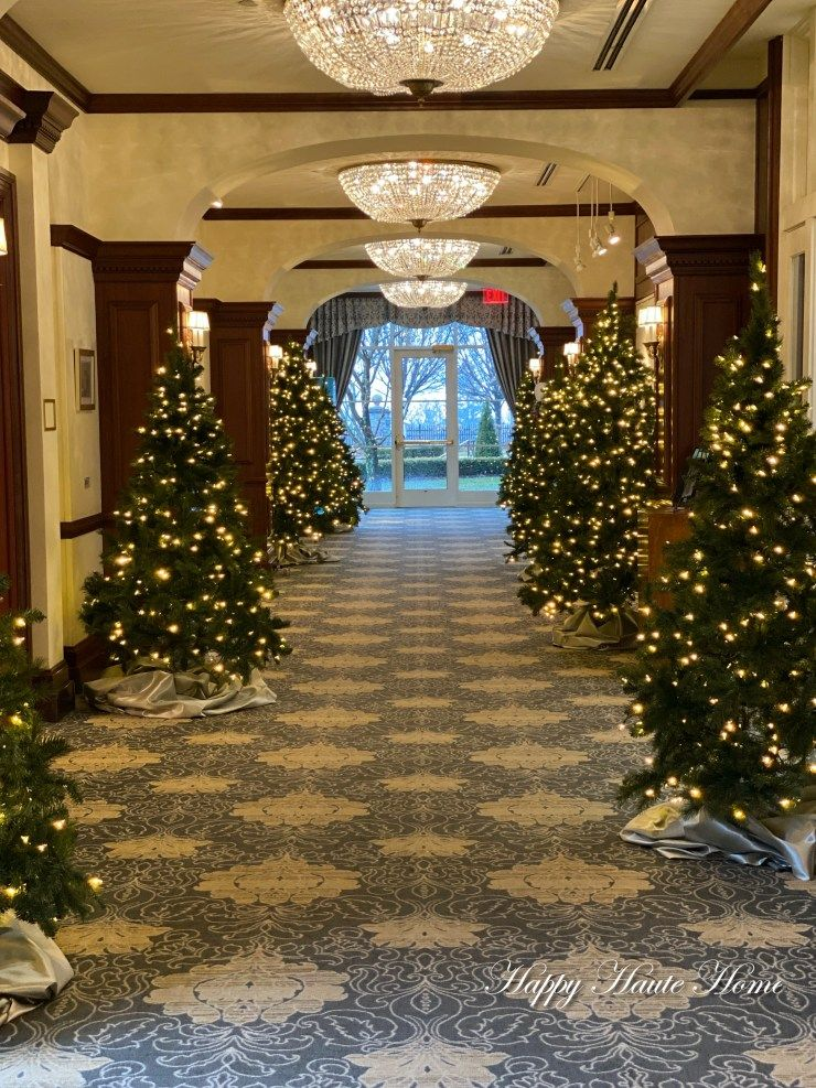 Woodlands Christmas Lights 2020 Visiting Nemacolin Woodlands Resort at Christmas Time   Happy
