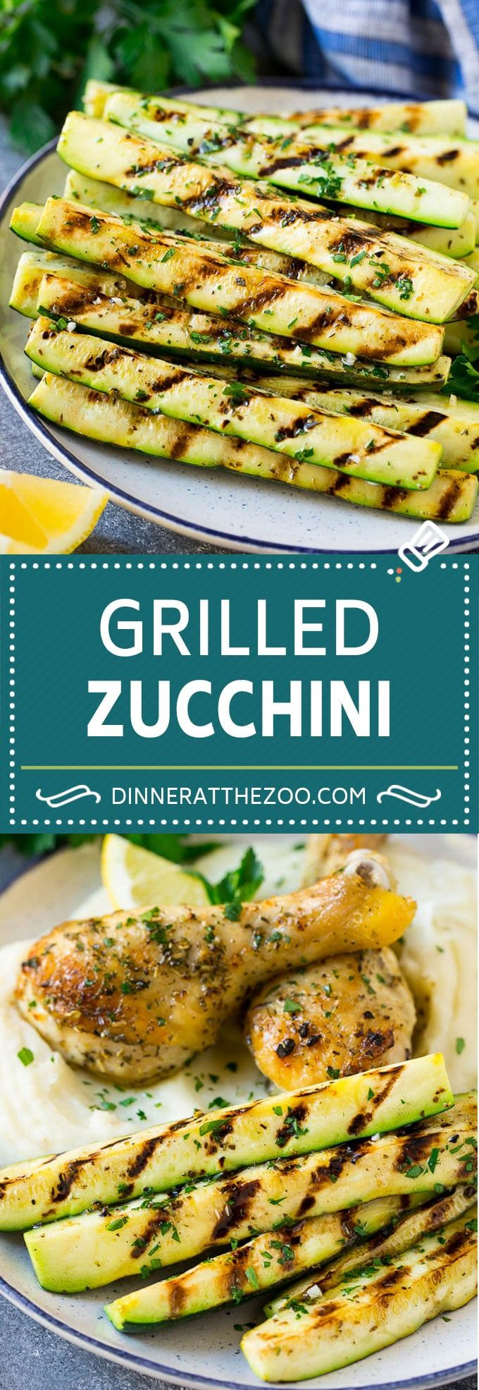 Photo of Grilled Zucchini with Garlic and Herbs