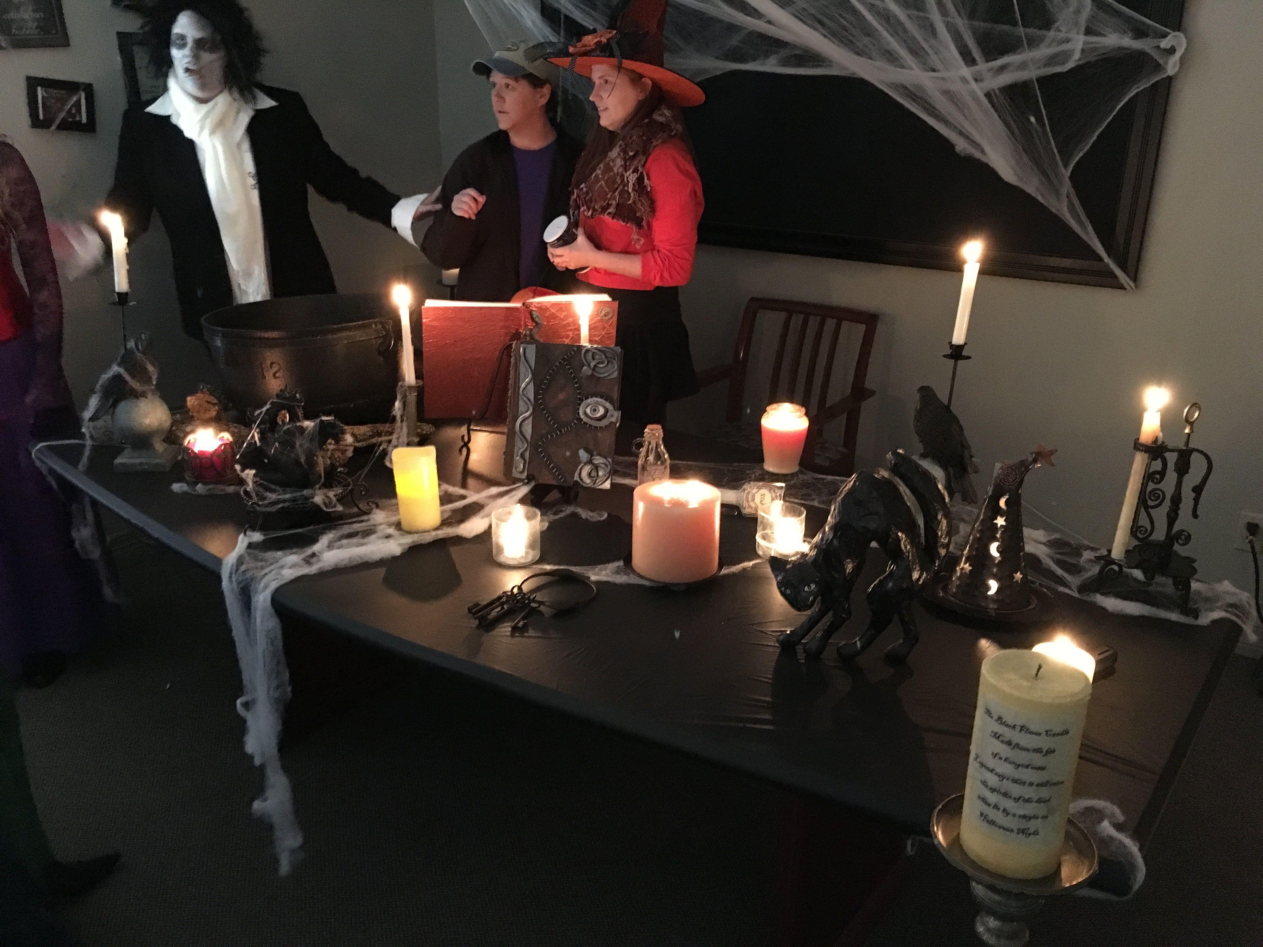Hocus Pocus Halloween office costume party decor
