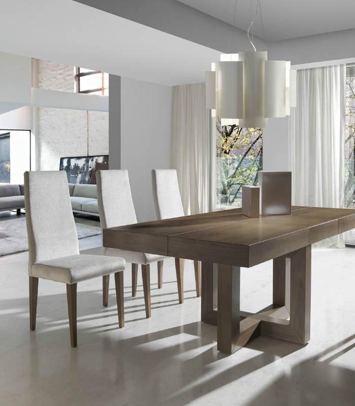 Mesa de comedor extensible modelo 293 muebles for Modelos comedores