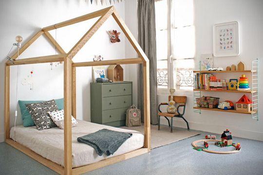 Home is Where the House Is House-Shaped Kids\u0027 Decor Wood frame