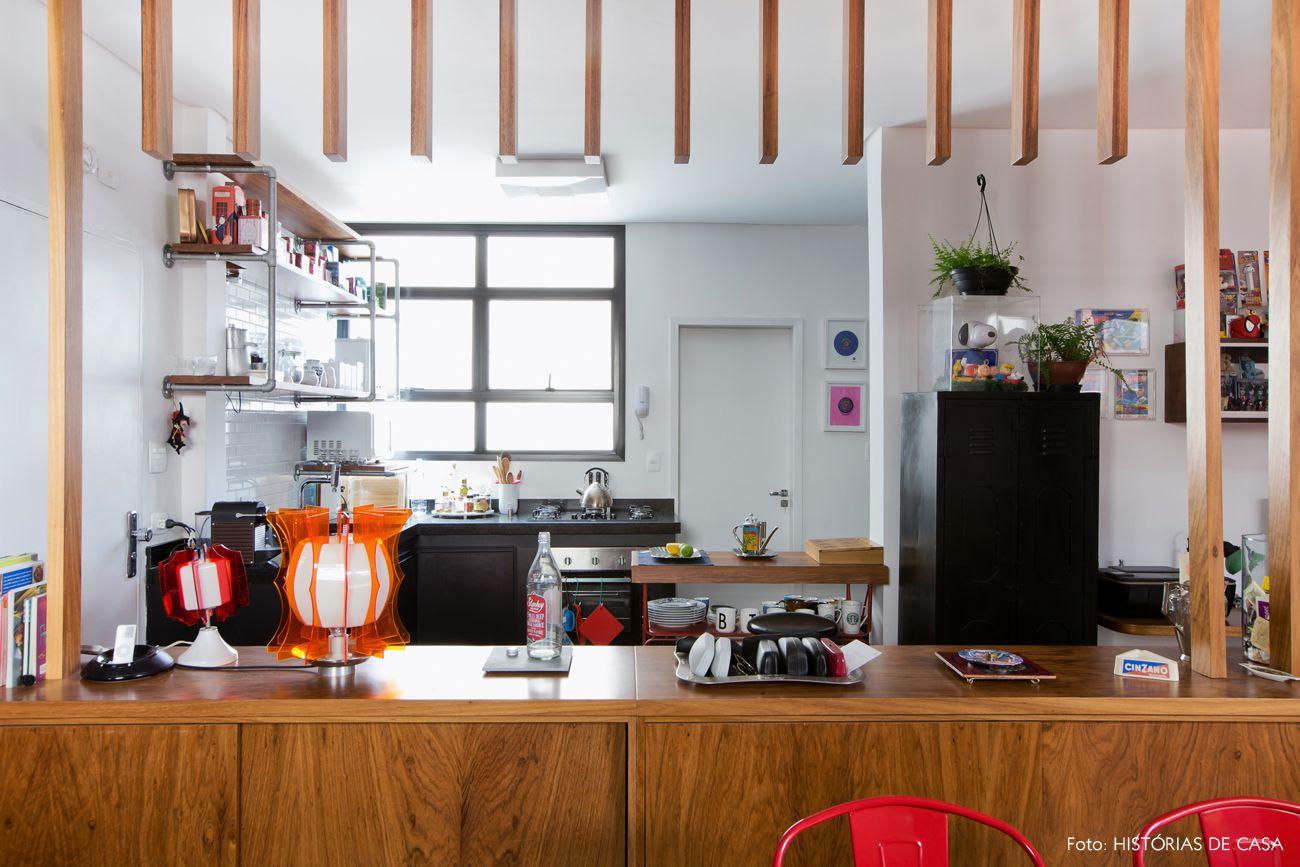 Mistura Nica Aparador De Madeira Cozinhas Integradas E Divis Ria ~ Divisoria Para Cozinha E Sala