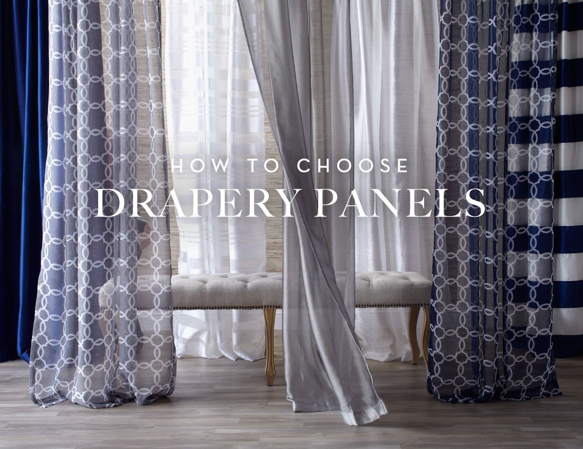 How to choose drapery panels guide now on zgallerie popular