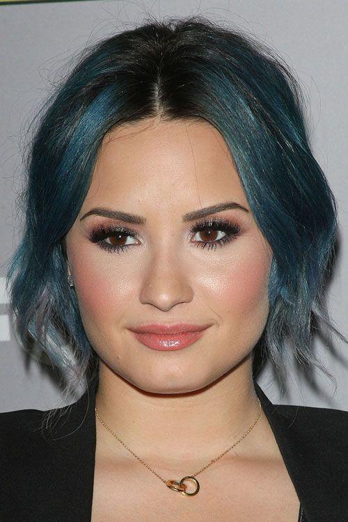 Demi Lovato Updo