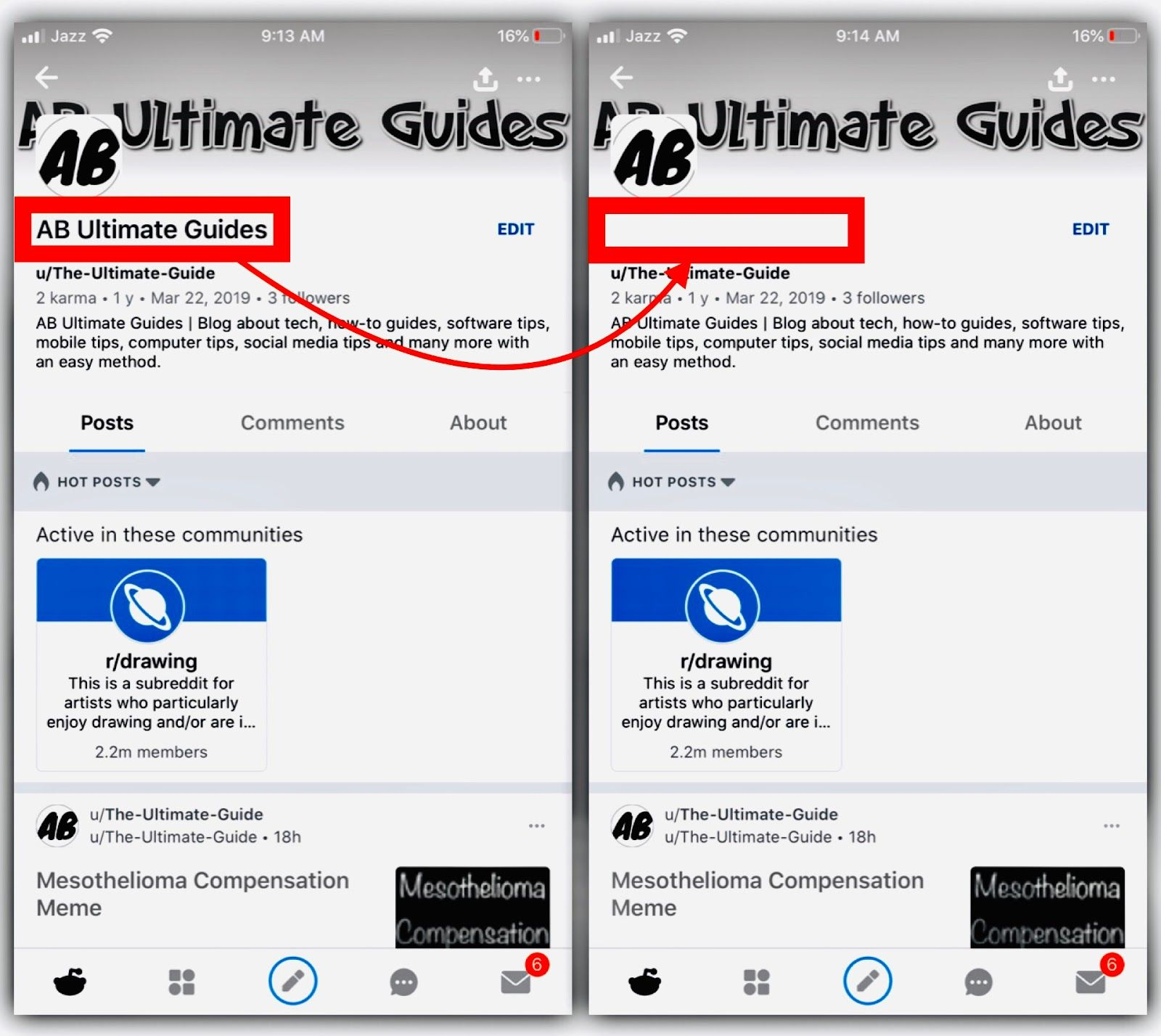 How To Make Invisible Name On Reddit Names How To Make Told You So