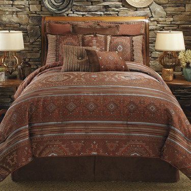 High Plains Southwest Comforter Bedding By Veratex