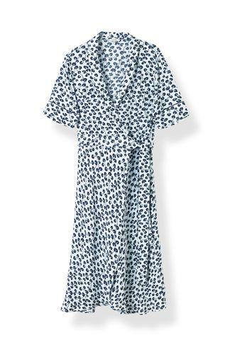 1ef2d704803f Emory Crepe Wrap Dress