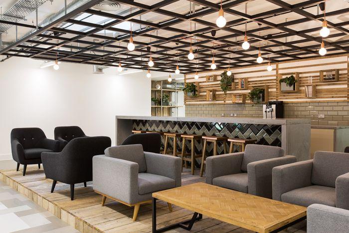 Merkle Periscopix Offices London LOUNGE Spaces Pinterest