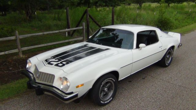 1974 Chevrolet Camaro Z28 Type Lt One Owner 68 915 Miles Rare