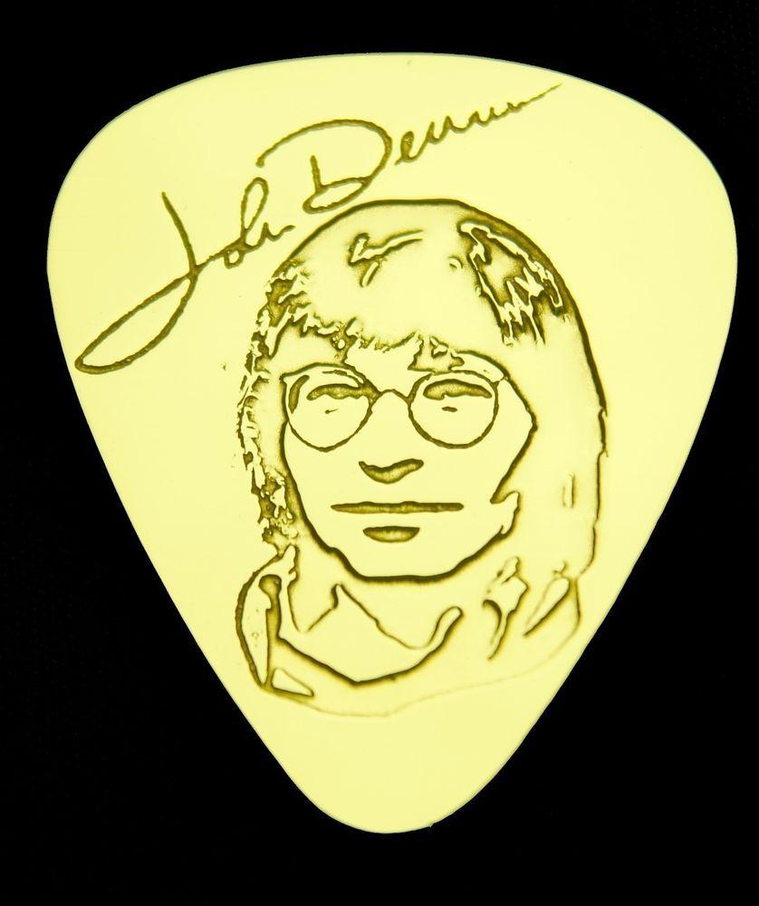 John denver grandma s feather bed sheet music - John Denver Solid Brass Guitar Pick Acoustic Electric Bass