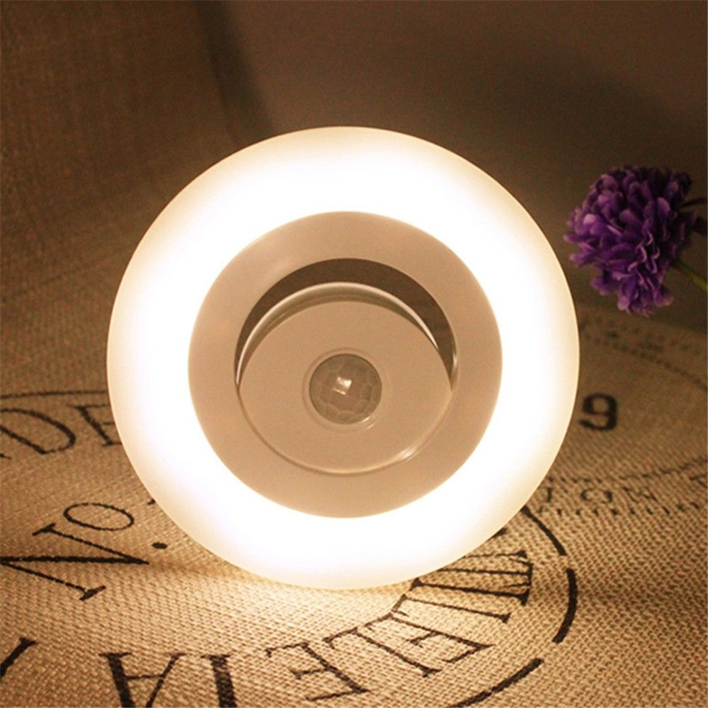 4X Led Night Light For Closet/Cabinet , Magnetic Motion Activated Batteryu2026