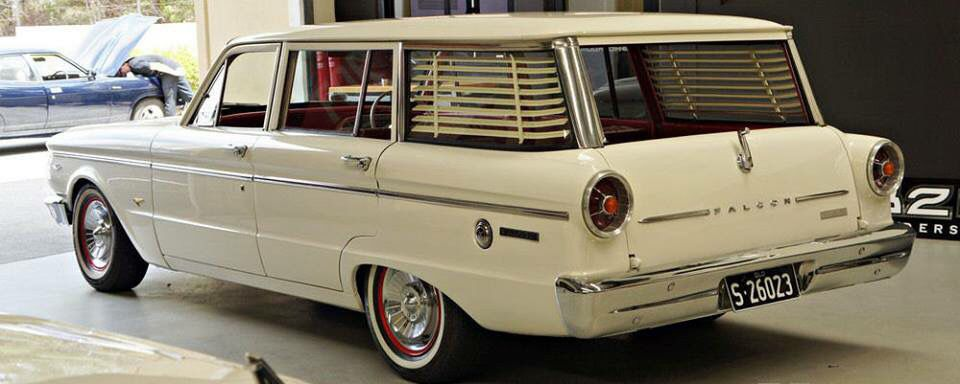 1965 Ford Falcon Xp Wagon 302 Auto Check Out The Blinds In The