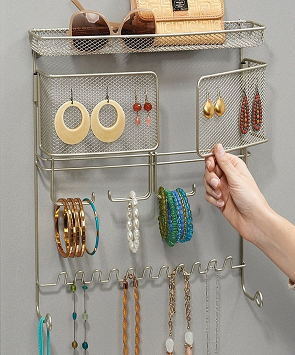 Take a look at this Satin Classico Wall Mount Jewelry Accessory