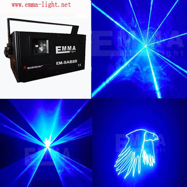 $357.00 (Buy here: http://appdeal.ru/eduy ) blue 2000mw Animation Laser Light  2w blue color LASER ilda 25kpps Disco Stage Lighting, fast shipping for just $357.00