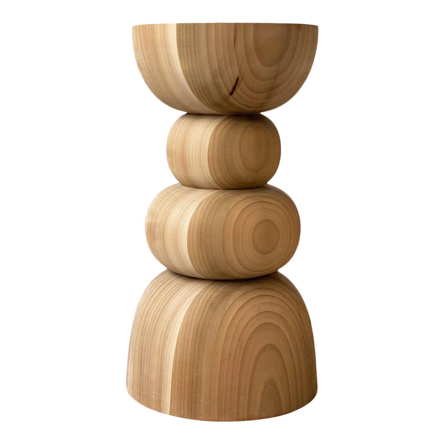 Geometric Modern Wood Pedestal Table Wood Pedestal Modern Wood Pedestal Table