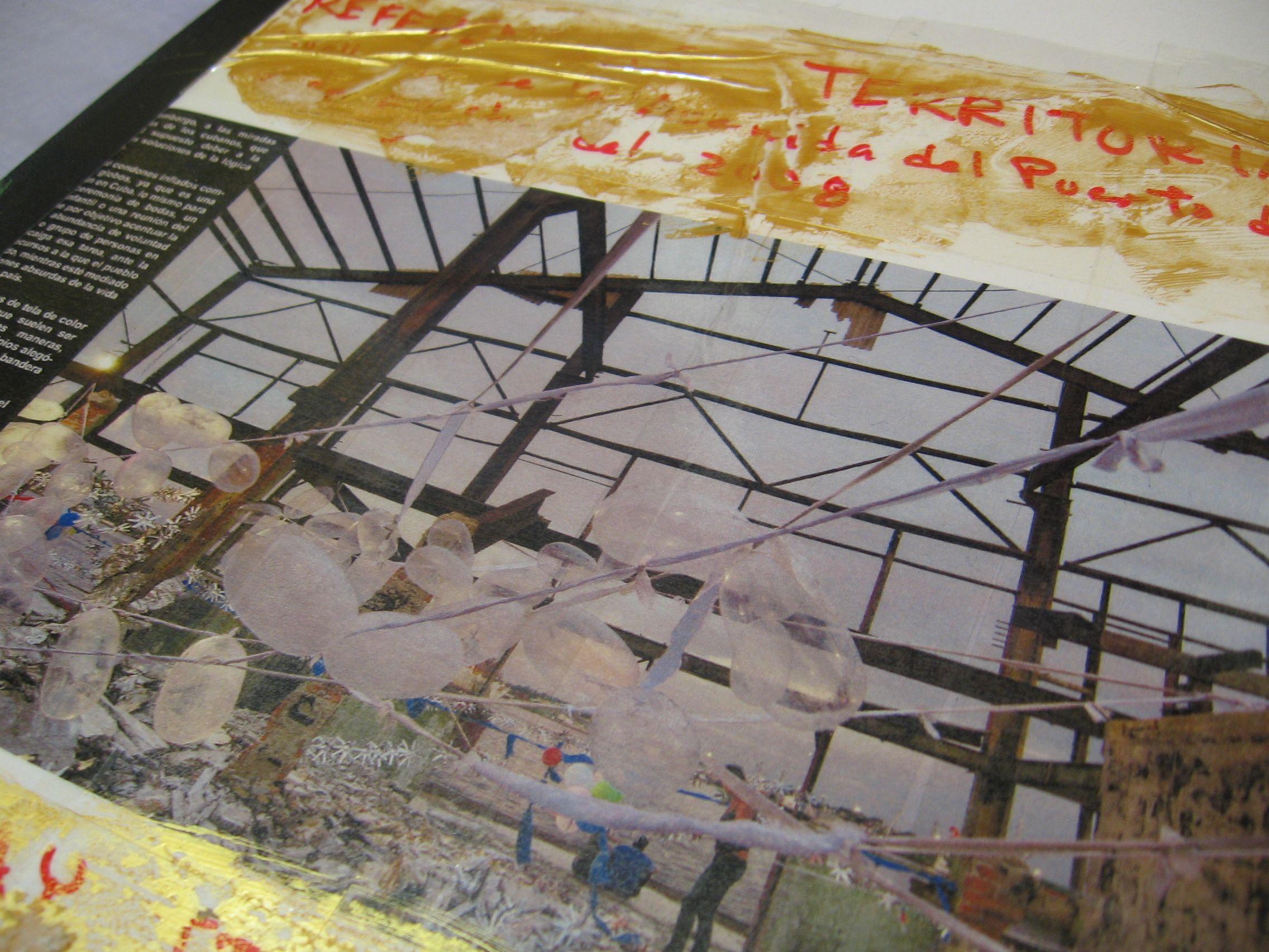 OBRA CATÁLOGO -LIBRO-OBJETO. Galería fotográfica. 2009