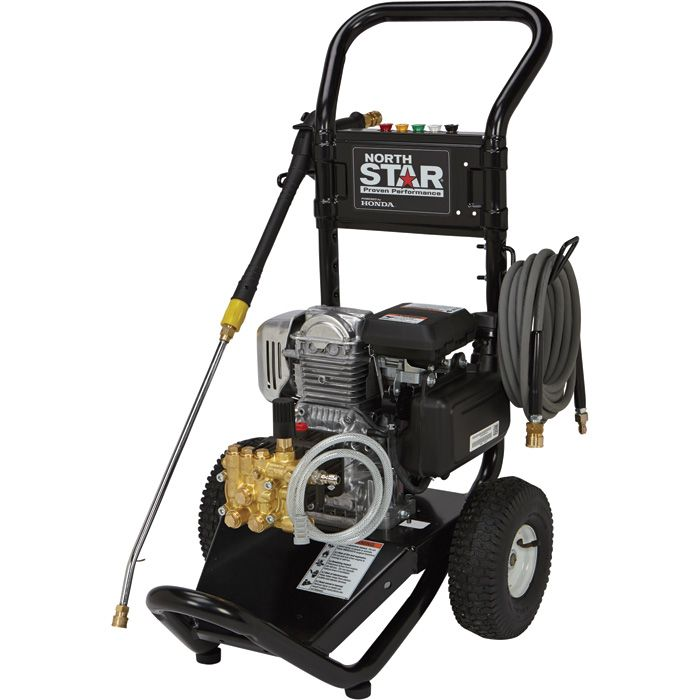 NorthStar Gas Cold Water Pressure Washer — 3000 PSI, 2 5 GPM, Honda