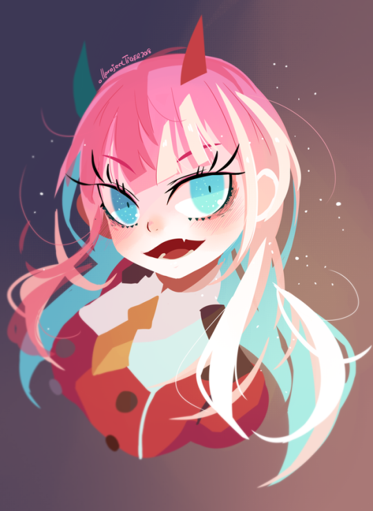 Zero Two Darling In The Franxx Ir Dr Daily Doodles Darling In The Franxx Anime Cool Drawings