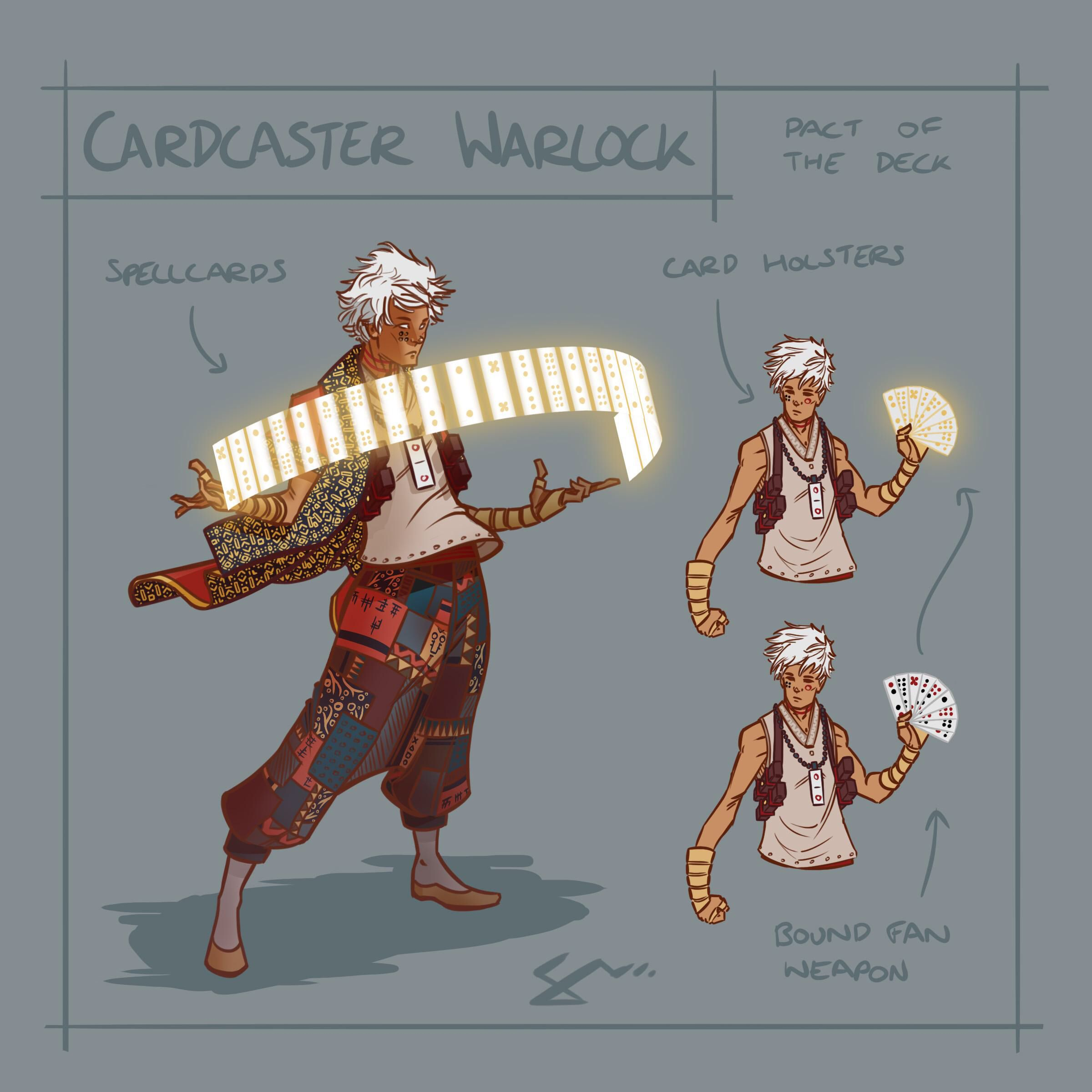 Card caster warlock Reddit | Games: D&D in 2019 | Character design