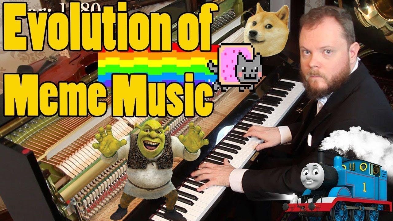 Evolution Of Meme Music 1500 Ad 2018 Music Humor Evolution Memes